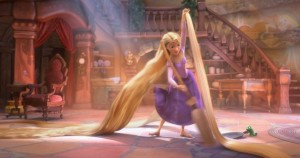 Talking over Tangled (the movie)