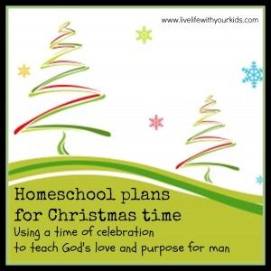 homeschool plans Christmas