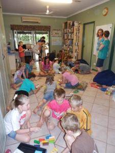 Our Monthly Homeschool Co-op