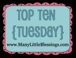 top 10 ten tuesday link