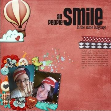 all people smile