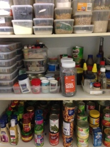 my now tidy pantry
