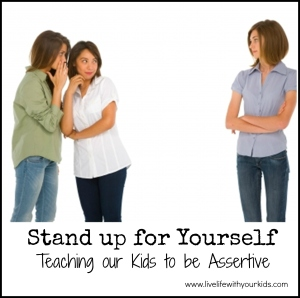 stand up for yourself assertive