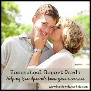 homeschool report cards
