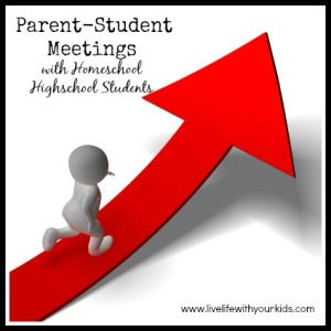 Parent-Student Meeting with Homeschool Highschool Students