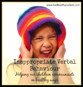inappropriate verbal behaviourID-10055361
