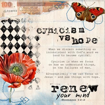 cynicism vs hope