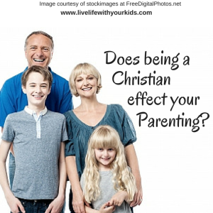 does being a christian effect your parenting-