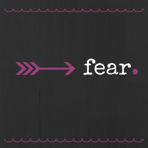 writing about fear