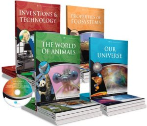 By Design Science - you can buy these one subject at a time, or the full 4 year course