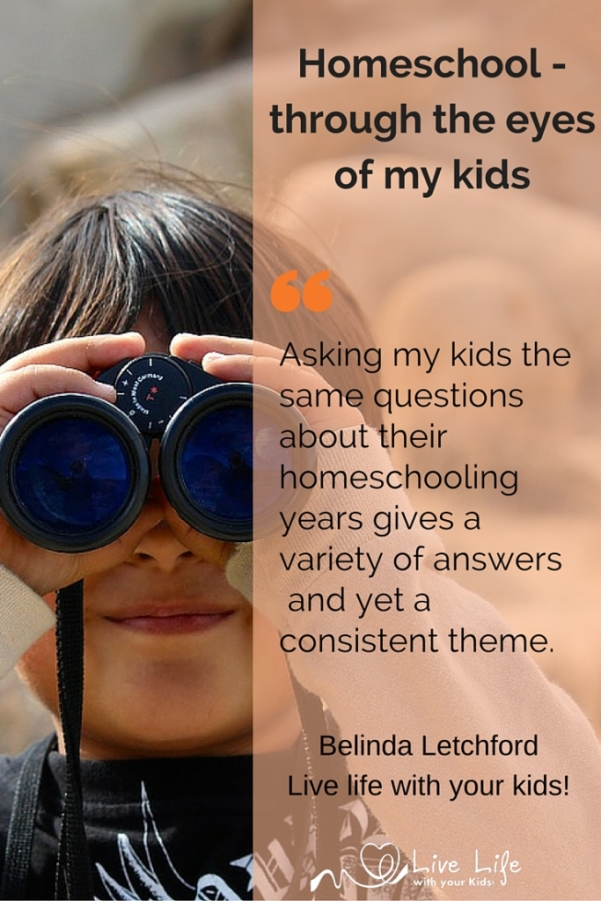 Homeschooling through the eyes of the student.