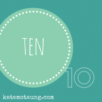 Ten things I want for my kids.