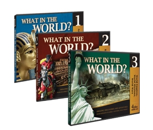 Even if you don't use this curriculum - I highly recommend the audios as family listening; not only giving an overview of history but from a Biblical perspective