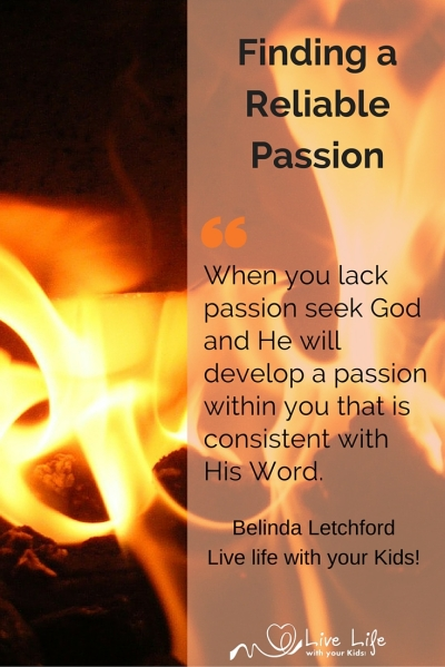 Finding a reliable passion