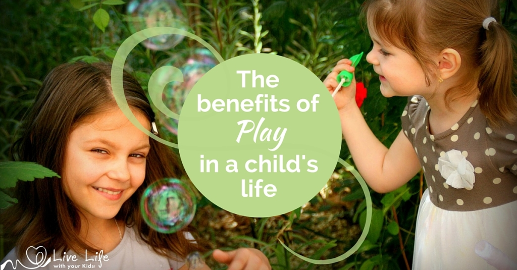 There are benefits of play in a child's life - we just have to let it happen.